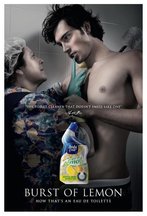 Ambi Pur Burst of Lemon print advertisement
