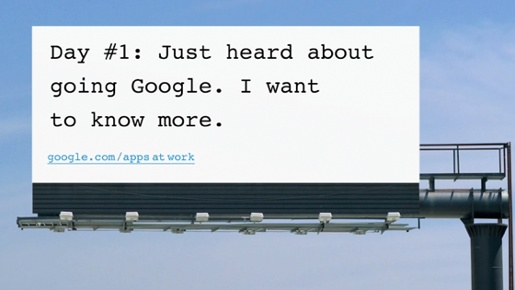Going Google Billboard 1