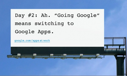 Going Google Billboard 2