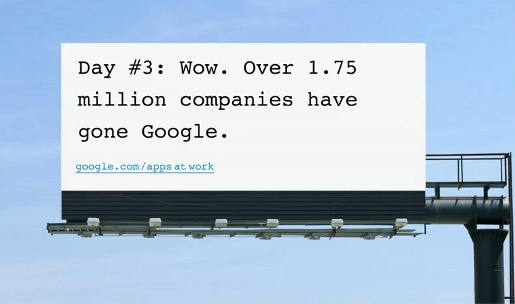 Going Google Billboard 3
