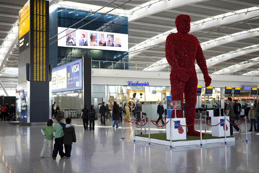 Poppy Man in Poppy Day T5 Installation