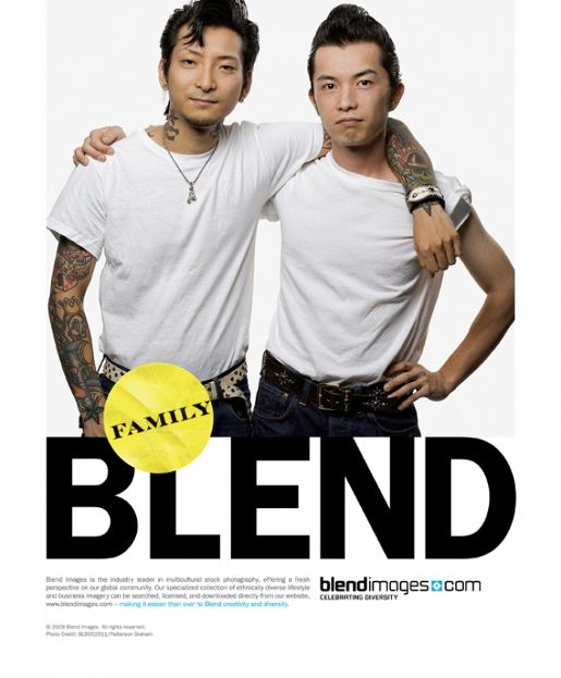 Blend Images Family