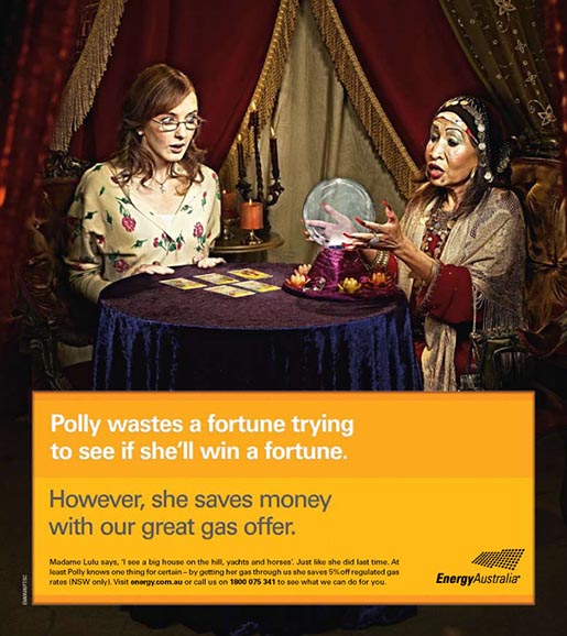 Energy Australia Fortune Wastes Energy ad