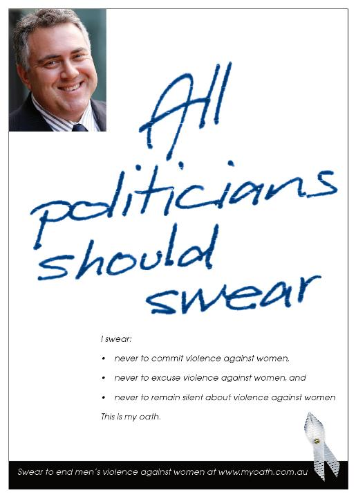 All Politicians Should Swear