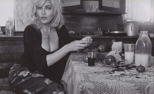 Madonna in Dolce & Gabbana advertising feature