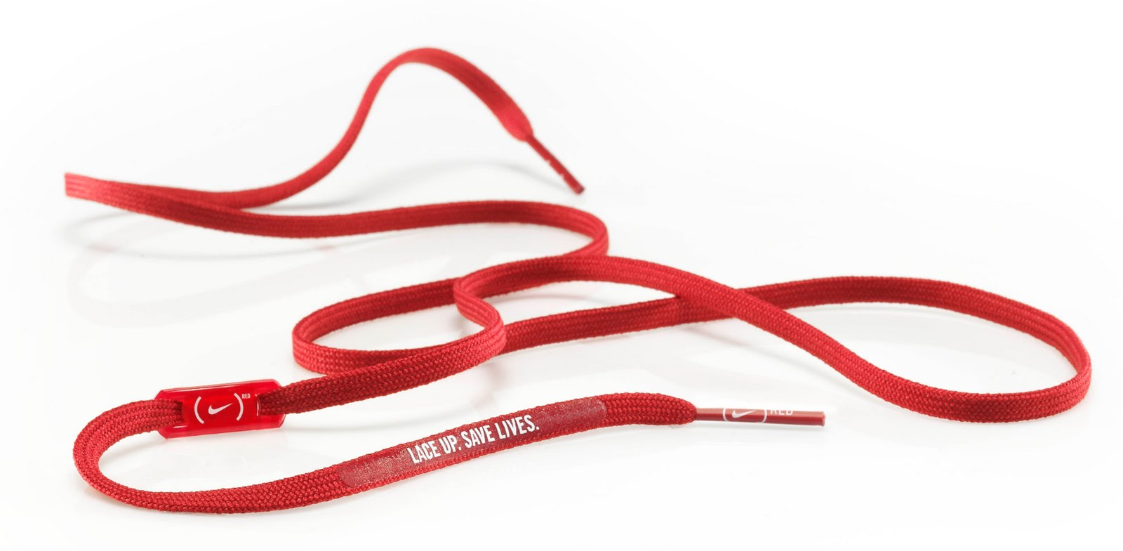 e46974f0131 Nike (Red) Laces Fighting AIDS - The Inspiration Room