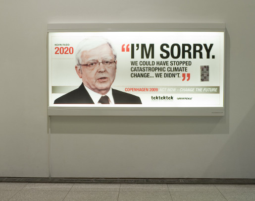 Greenpeace Rudd says Sorry