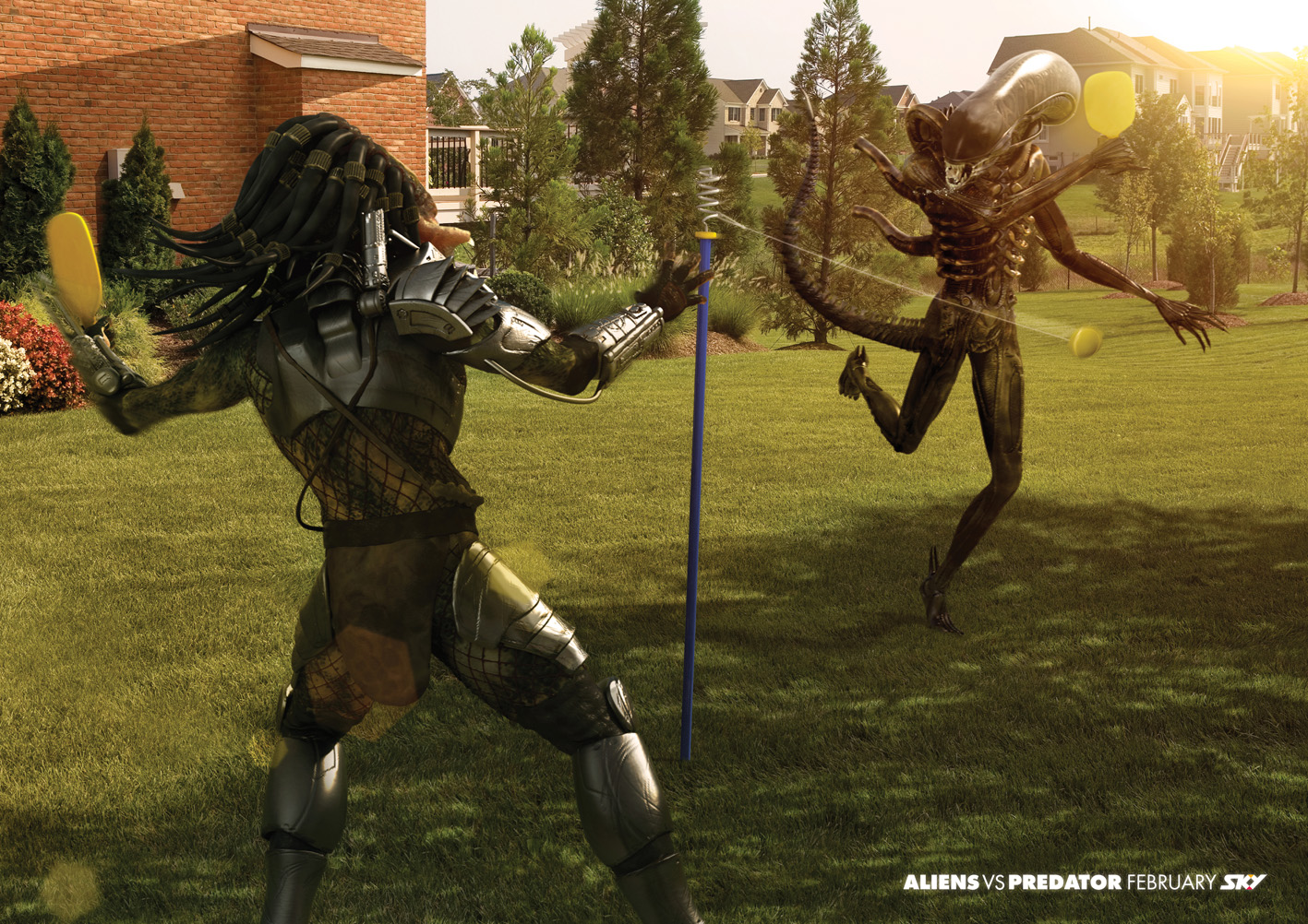 Aliens vs predator games on sky tv in new zealand