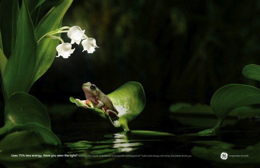 GE Fireflies print advertisement
