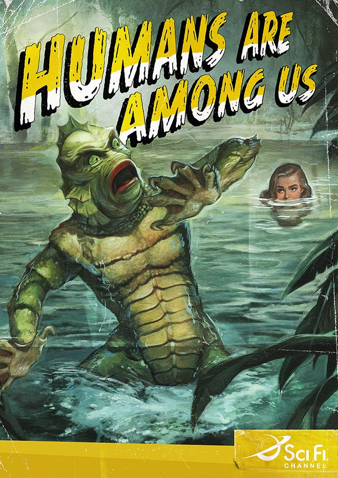 Scifi Channel Creature from Black Lagoon poster