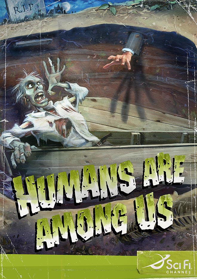 Scifi Channel Zombie poster