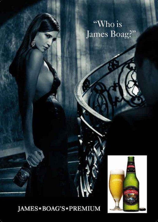James Boag print advertisement