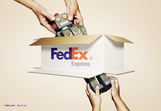 Fedex Box Robot