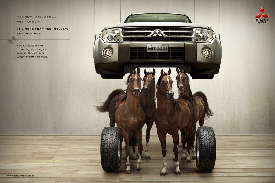 Mitsubishi Pajero with Animal Instinct | The Inspiration Room