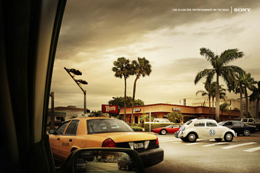 Sony Herbie print advertisement
