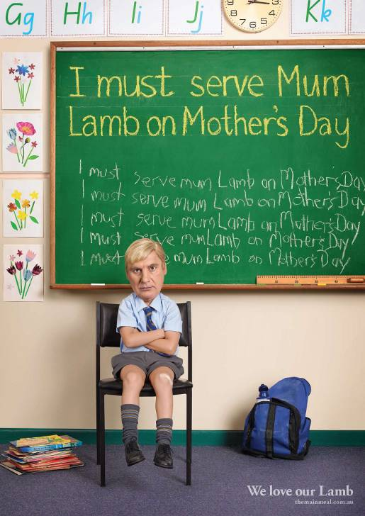 Sam Kekovich nephew says to get Mum roast lamb for Mothers Day
