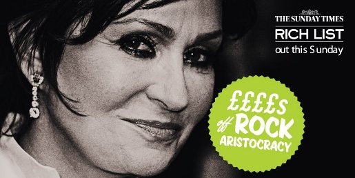 Sunday Times Rich List 2009 Rock Aristocracy