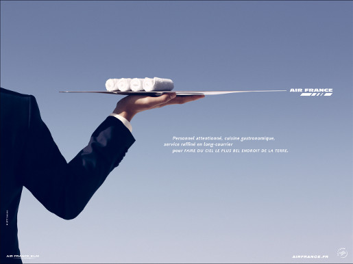 Air France Plateau print advertisement