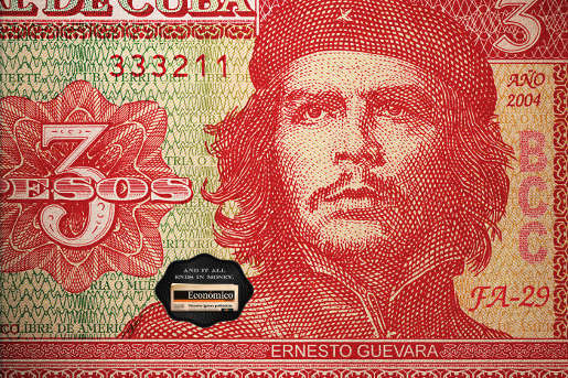 Che Guevara in Economico print advertisement