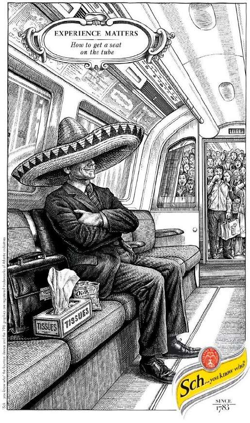 Schweppes Mexican on Tube