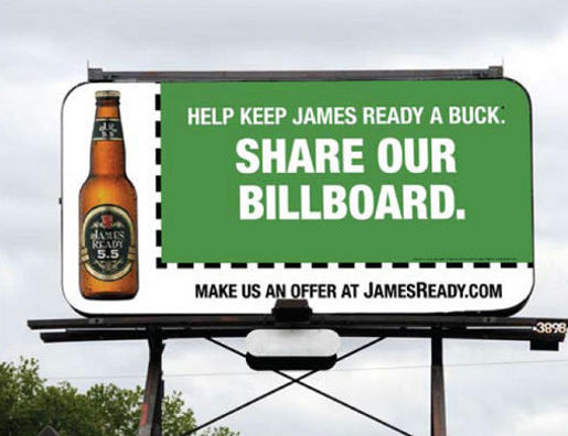 James Ready Share Our Billboard