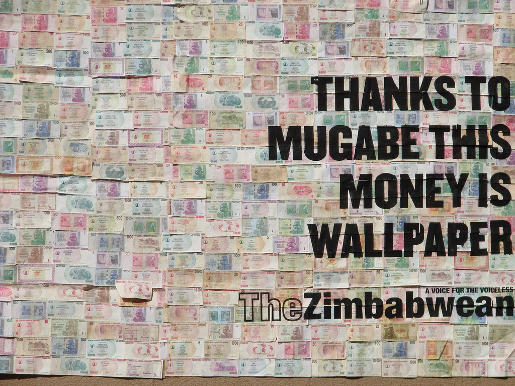 The Zimbabwean on Trillion Dollar Notes
