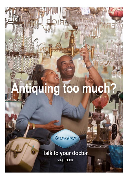 Viagra Antiquing ad