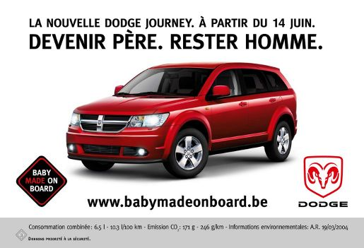 Dodge Baby Made on Board billboard
