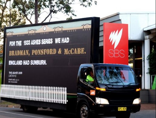 SBS The Ashes Truck - England Had Sunburn