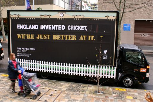 SBS The Ashes Truck - England Invented Cricket