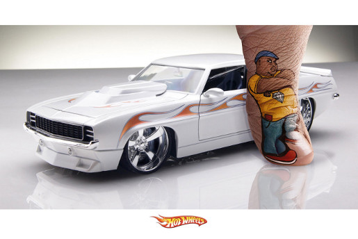 Hot Wheels for Kids print advertisement