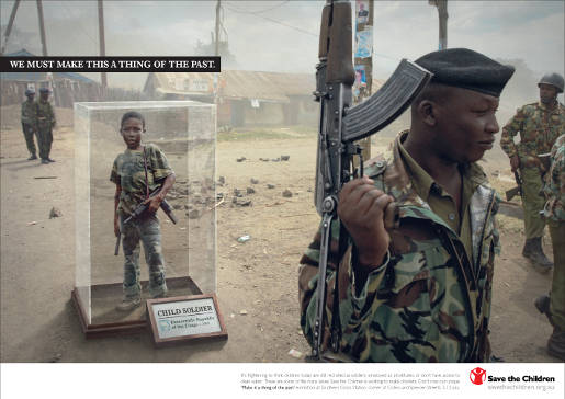 Save the Children Child Soldier
