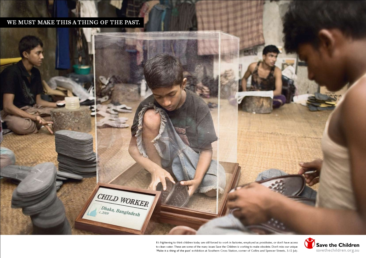 Save the children makes injustice thing of the past