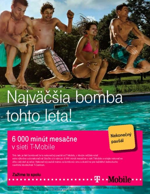 T-Mobile Bomba advertisement