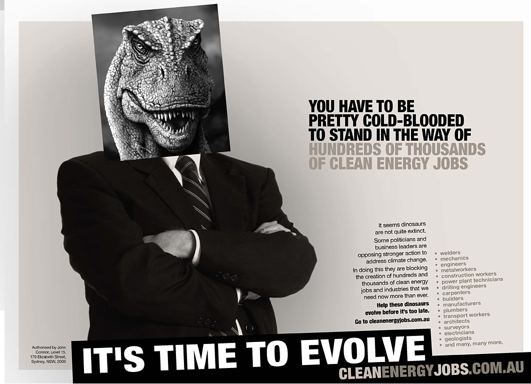 Climate Institute Return of the Dinosaurs | The Inspiration Room