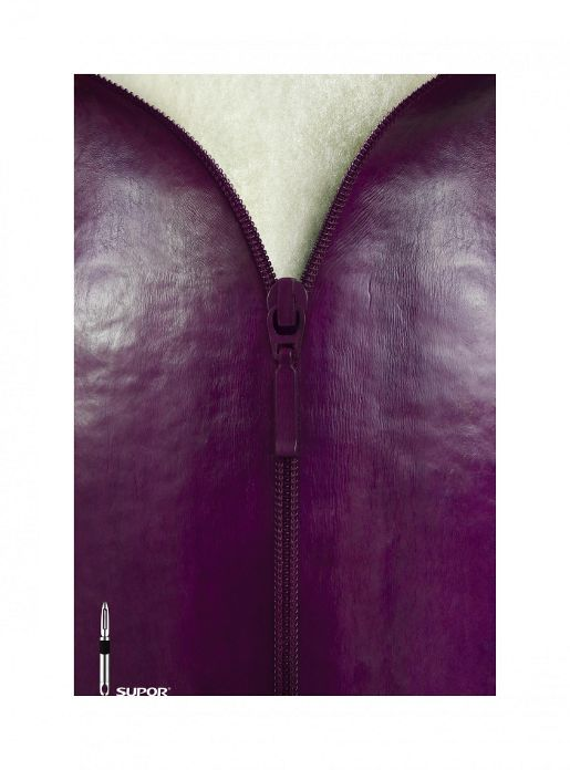 Supor Egg Plant Zip print advertisement