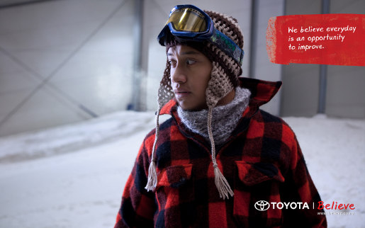 Toyota Believe Ad from New Zealand