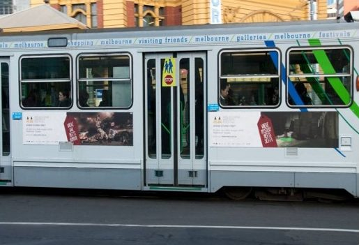 Where Genres Meet on Melbourne tram