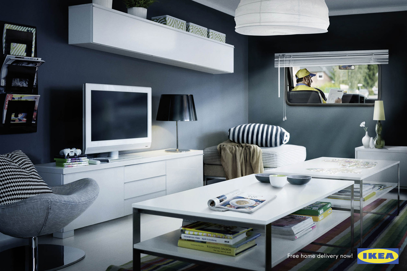 Ikea room delivery the inspiration room - Model home designer inspiration ...