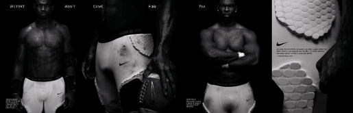 Nike combat commercial 2 Brian Urlacher Justin Tuck