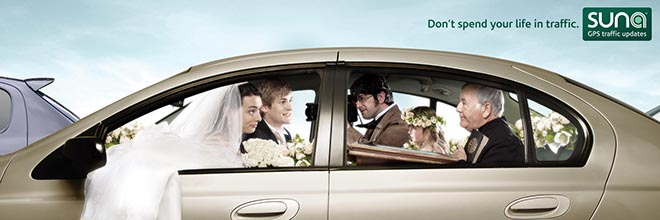 Suna GPS Billboard - Wedding