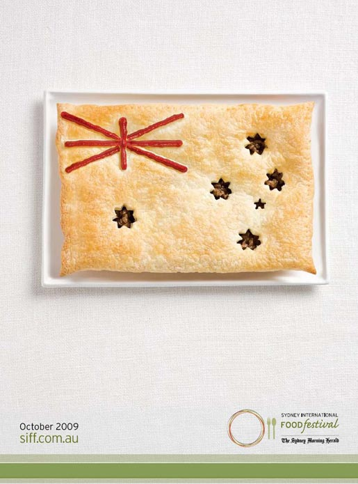 Sydney International Food Festival Australia Flag