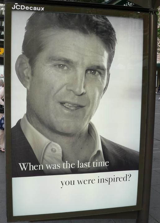 Tim Horan in The Australian Think Again Advertisement