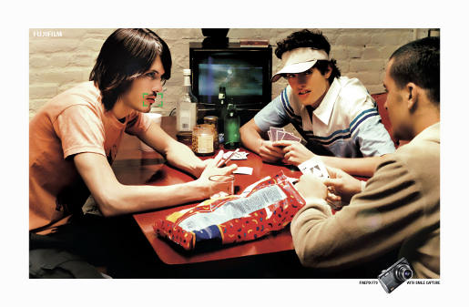 Fujifilm Finepix Poker Game ad