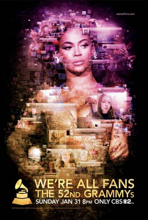 We're All Fans Beyonce Poster