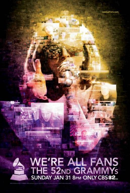 We're All Fans Lady Gaga Poster