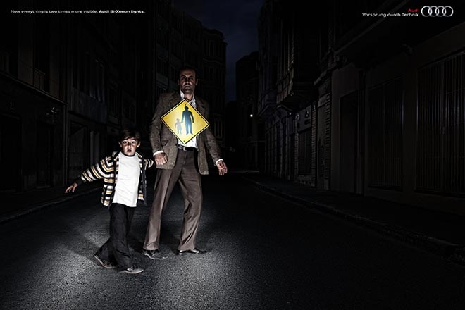 Audi Bi-Xenon Father and Son ad