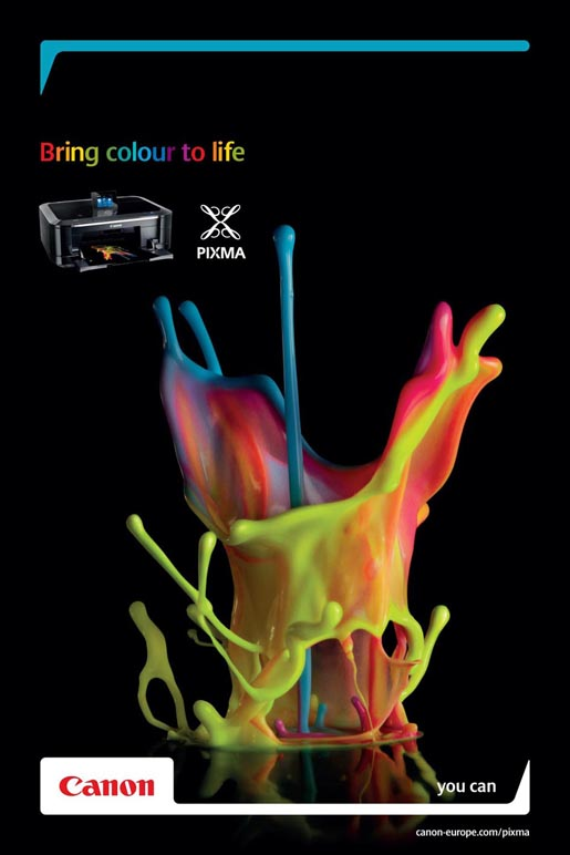 Canon Pixma Colour Sound Sculpture