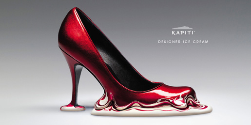 Kapiti Ice Cream High Heel