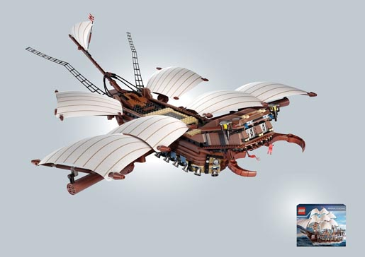 Lego Imperial Flagship Beetle